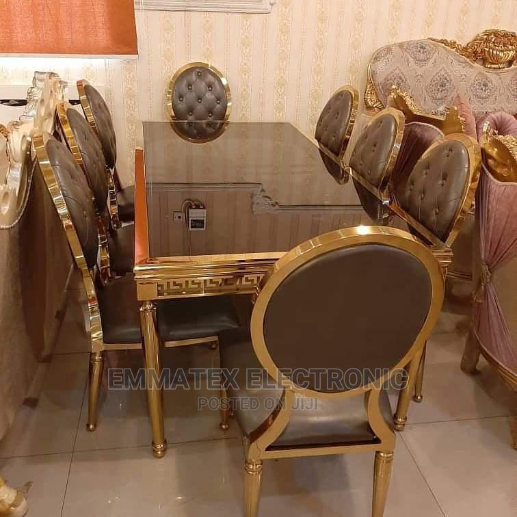 Kings and Queens Royal Marble Dinning Table
