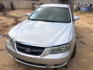 Hyundai Sonata 2008 2.4 Automatic Silver | Cars for sale in Lagos State, Ojodu