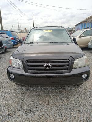 Toyota Highlander 2007 V6 Black | Cars for sale in Lagos State, Alimosho