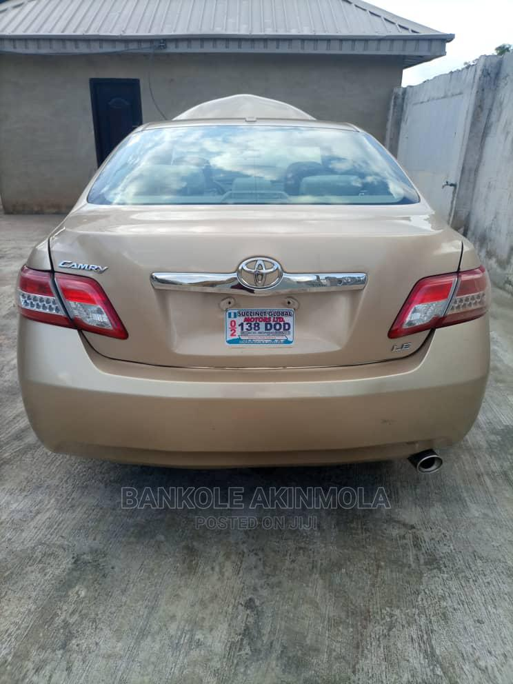 Toyota Camry 2010 Gold | Cars for sale in Akure, Ondo State, Nigeria