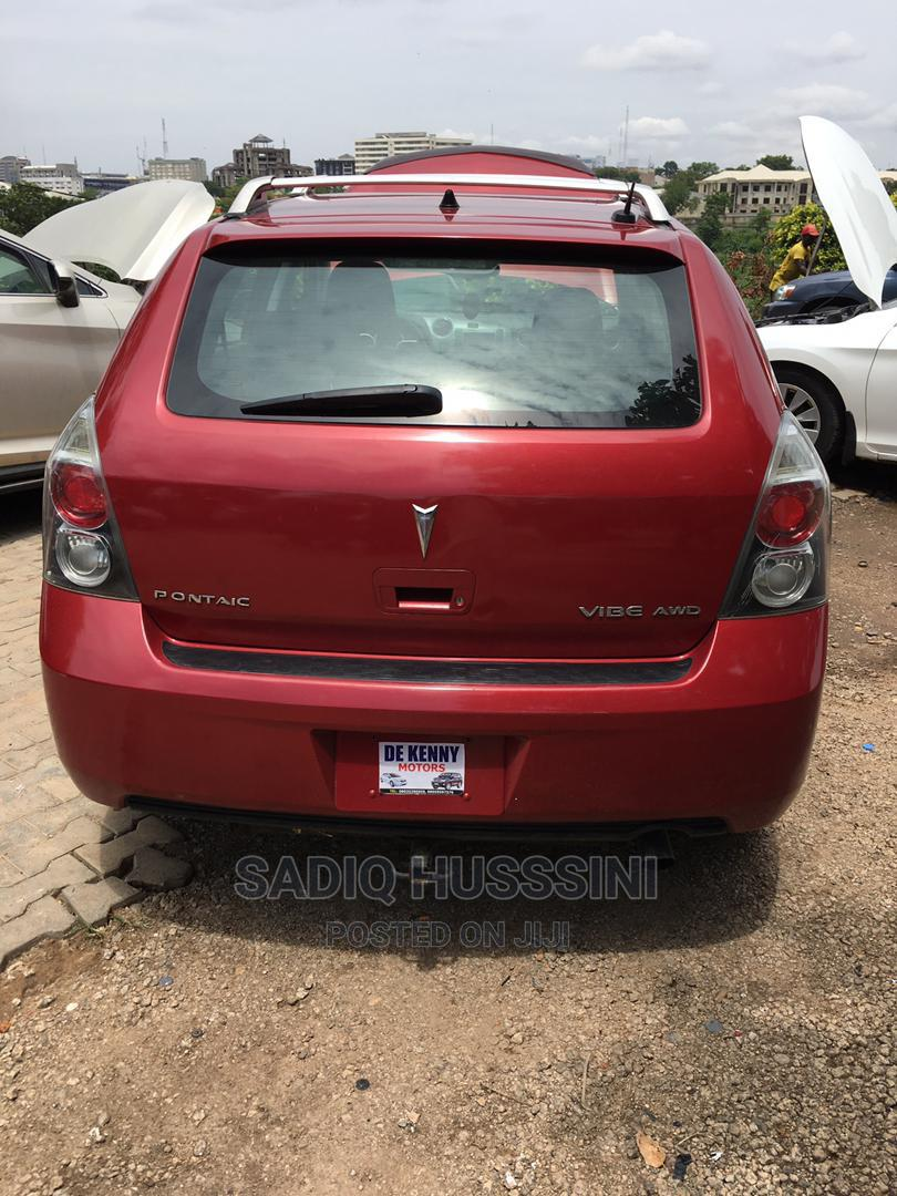 Archive: Pontiac Vibe 2009 2.4 4WD Red