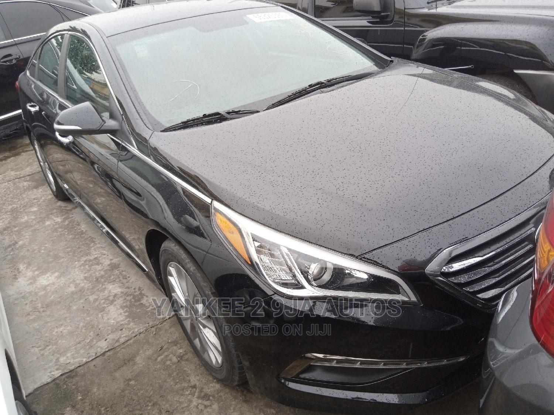 Hyundai Sonata 2015 Black