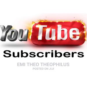 Get Youtube Followers/Subscribers   Computer & IT Services for sale in Lagos State, Ibeju