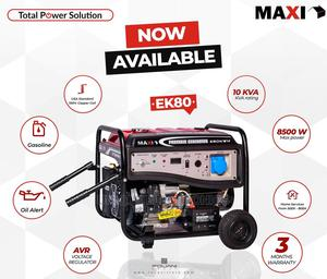 New One Maxi Generator 10kva Big 100% Copper Key Starting | Electrical Equipment for sale in Lagos State, Ojo