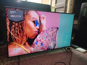 "Almost New 55"" Samsung Smart Uhd 4k Hdr Flat Slim Tv 2019 | TV & DVD Equipment for sale in Lagos State, Ojo"