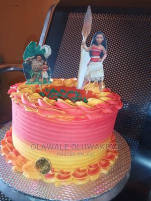 Moana Buttercream Cakes | Meals & Drinks for sale in Lagos State, Ikorodu