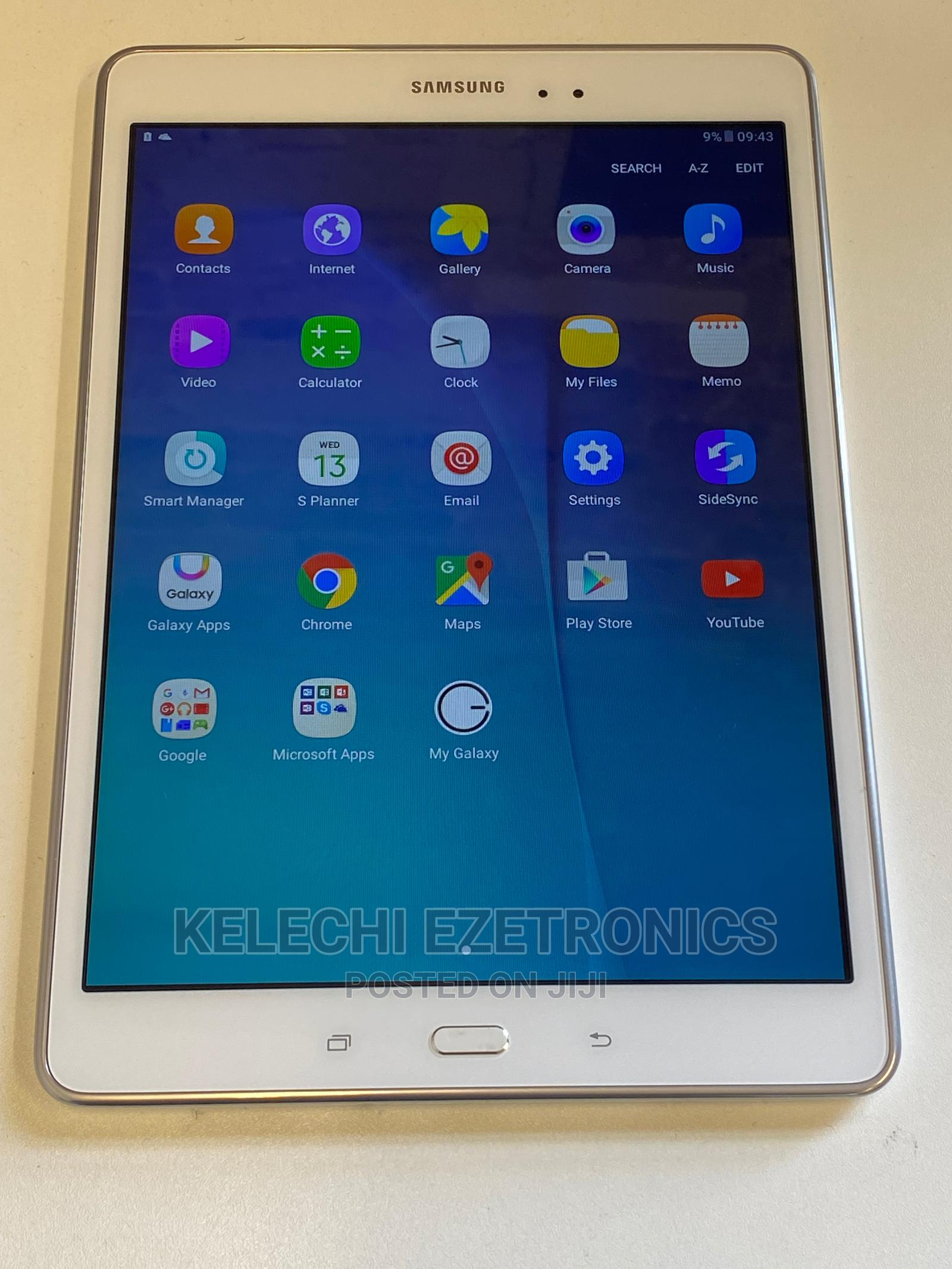 Samsung Galaxy Tab a 9.7 16 GB White | Tablets for sale in Ikeja, Lagos State, Nigeria