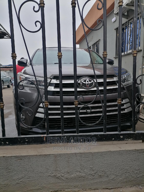 Toyota Highlander 2014 Gray