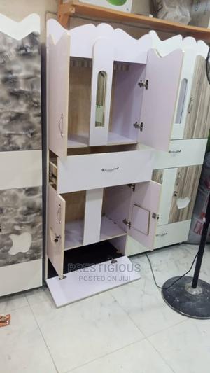 White Baby Wardrobe | Children's Furniture for sale in Lagos State, Ifako-Ijaiye