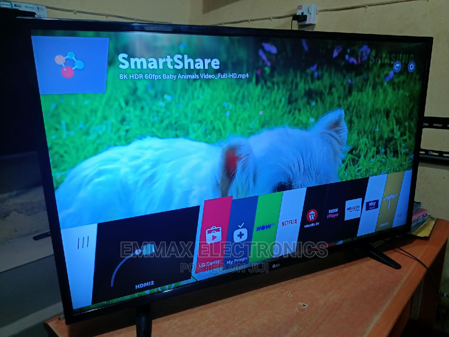 """Archive: 43"""" Inches LG Smart Webos Ultra HD 4K TV"""
