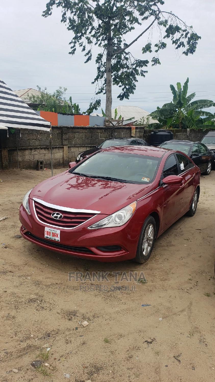 Hyundai Sonata 2012 Red