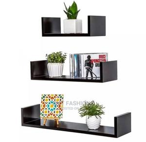 Black Floating Wall Shelf   Home Accessories for sale in Lagos State, Ogba