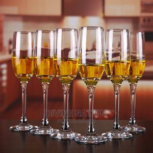 Crystal Glass Wine 6 Pcs | Kitchen & Dining for sale in Lagos State, Lagos Island (Eko)