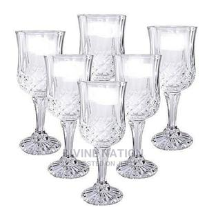 Dinning 6pcs Wine Glass Cup | Kitchen & Dining for sale in Lagos State, Lagos Island (Eko)