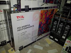 TCL 65-Inch Qled 4K Android Smart Ai TV | TV & DVD Equipment for sale in Lagos State, Ikeja