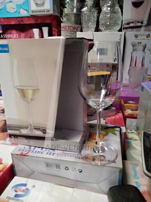 2pcs Wine Glass Cup. | Kitchen & Dining for sale in Lagos State, Lagos Island (Eko)