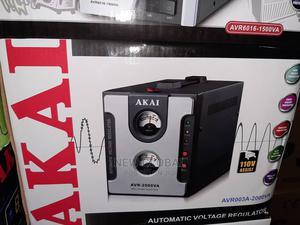 Original Akai Stabilizer 2000W   Electrical Equipment for sale in Lagos State, Ojo