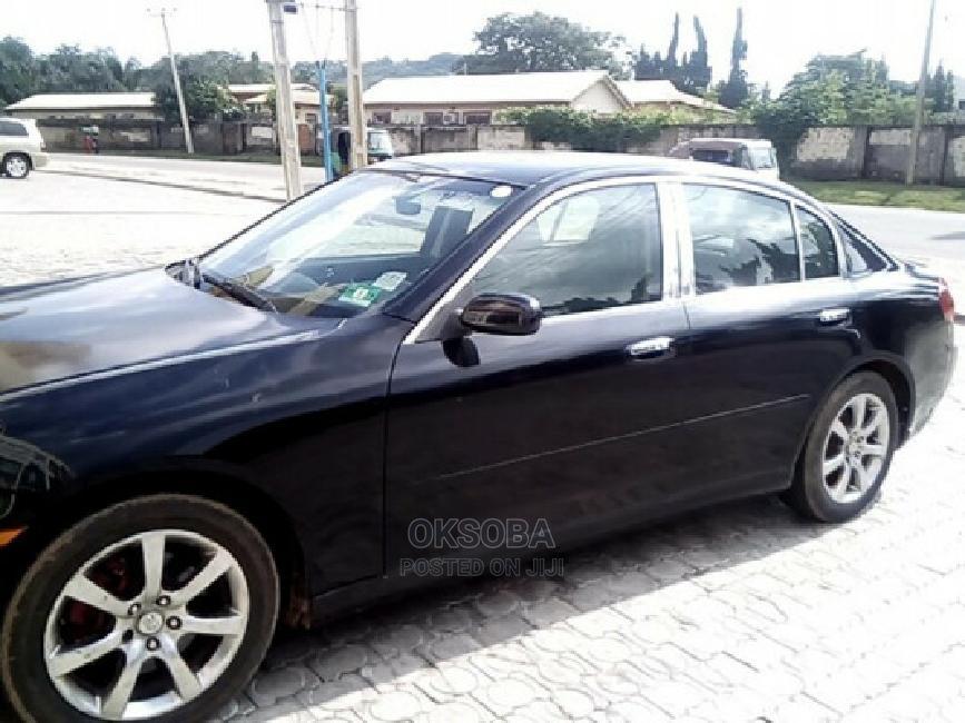 Infiniti G35 2006 Base RWD Black | Cars for sale in Kubwa, Abuja (FCT) State, Nigeria