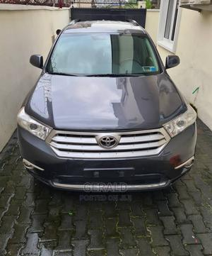 Toyota Highlander 2013 Limited 3.5L 2WD Gray   Cars for sale in Lagos State, Victoria Island