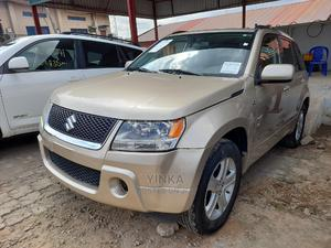 Suzuki Grand Vitara 2008 2.7 Luxury 4WD Gold | Cars for sale in Lagos State, Ikeja
