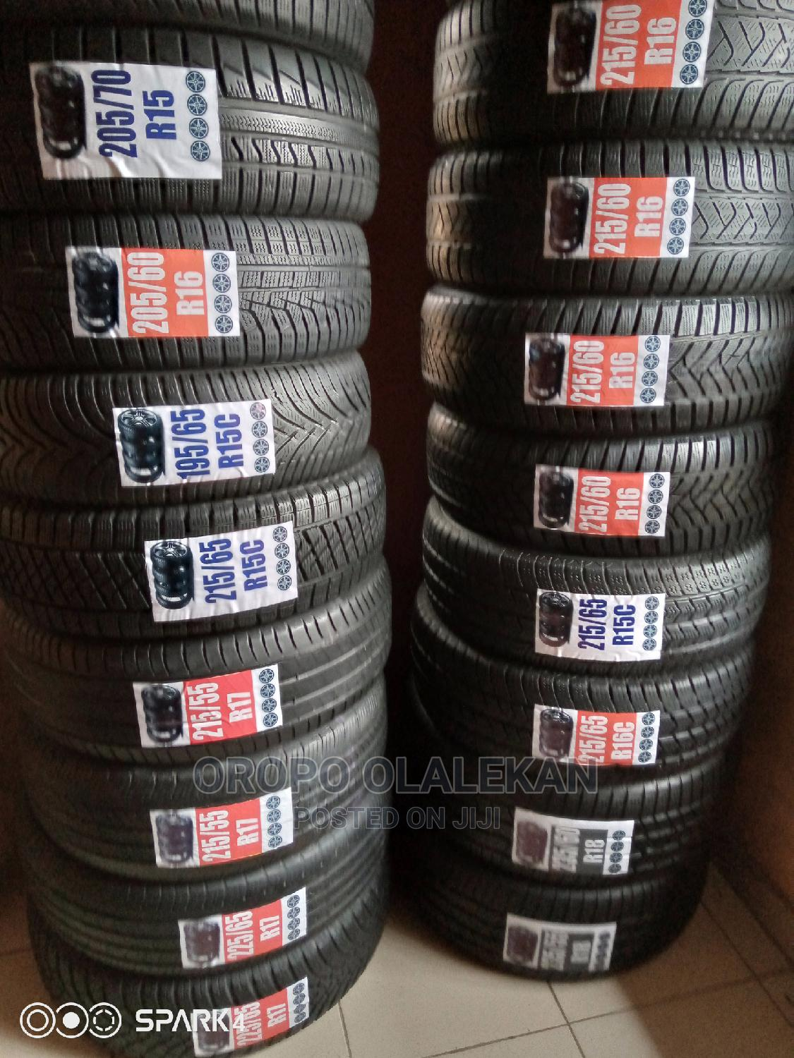 Foreign Used Tyre