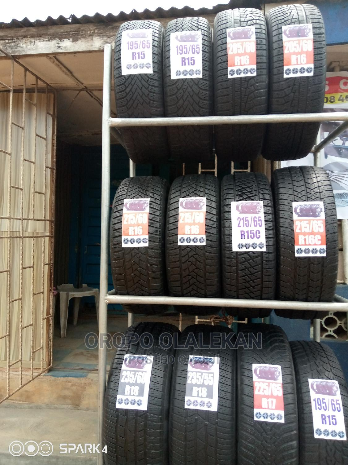 Foreign Used Tyre | Vehicle Parts & Accessories for sale in Isolo, Lagos State, Nigeria
