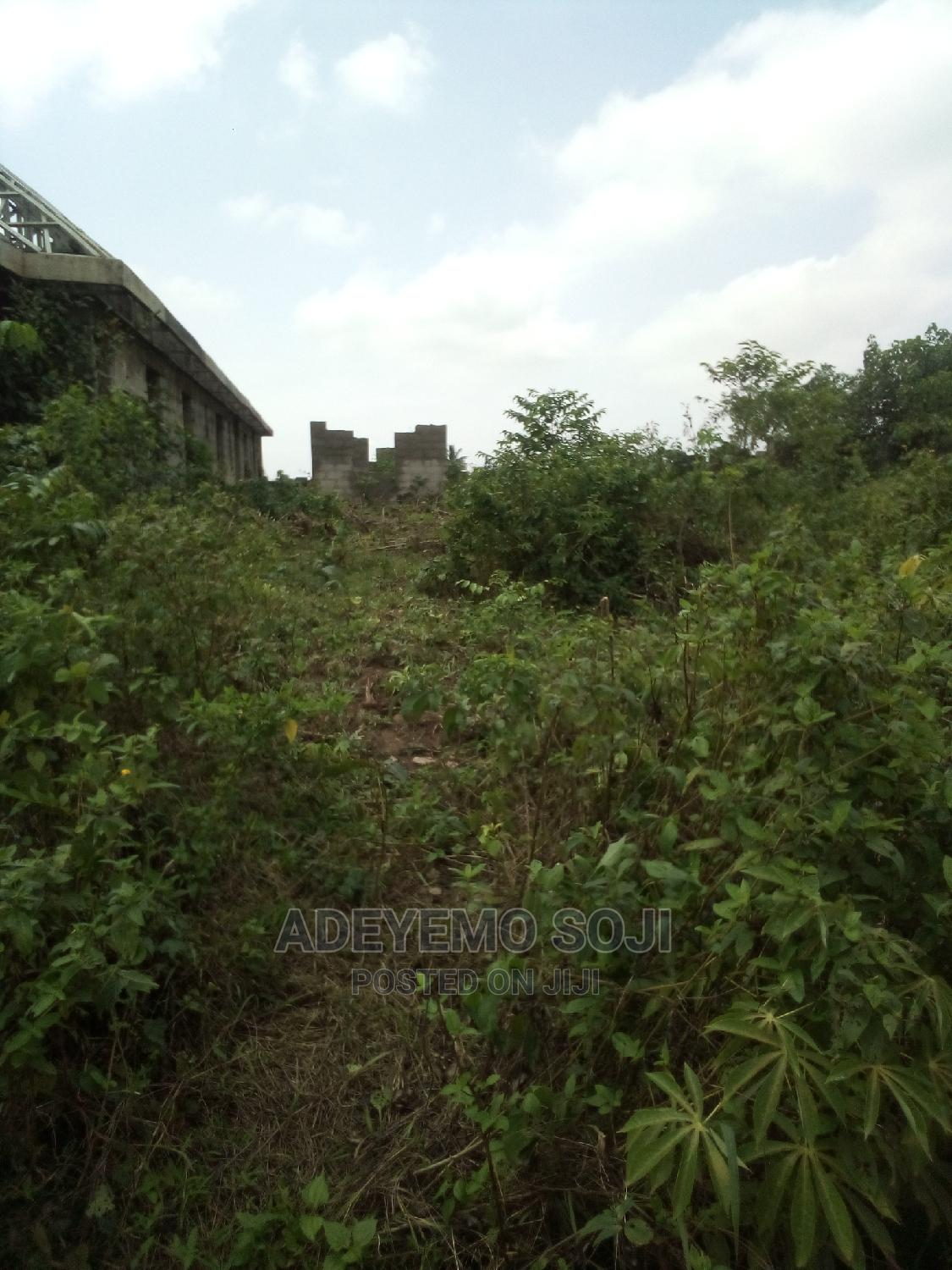 Uncompleted Building in Gberigbe for Sale