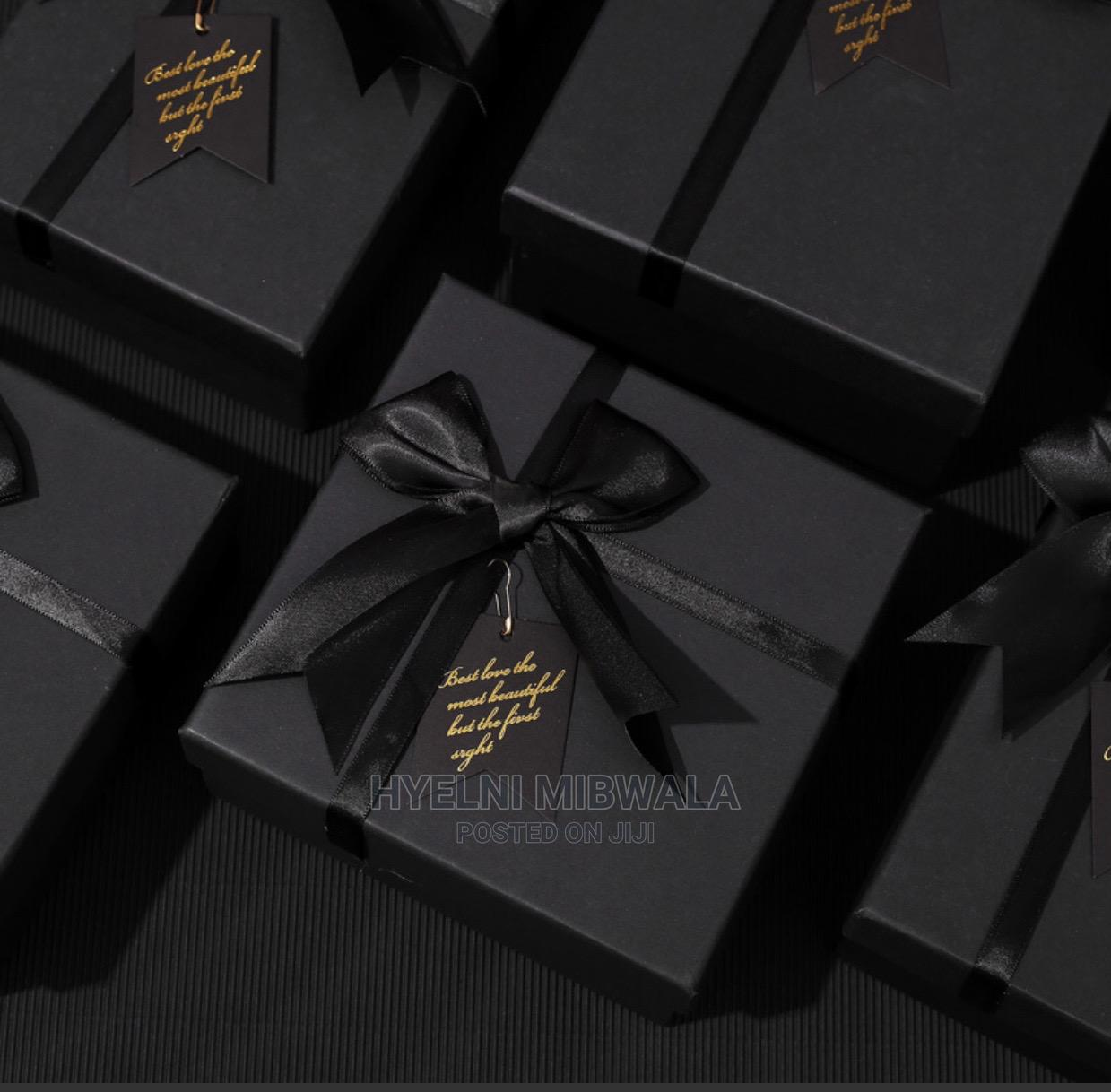 Black Gift Box | Arts & Crafts for sale in Central Business Dis, Abuja (FCT) State, Nigeria