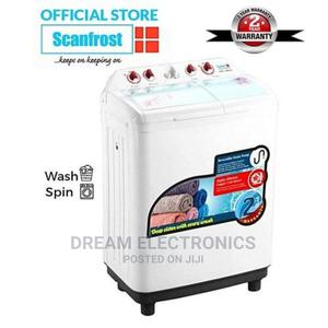 Scanfrost Twin Tub Semi-Automatic Washing Machine   Home Appliances for sale in Lagos State, Ikeja