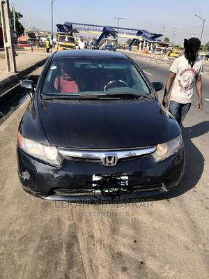Honda Civic 2006 1.8i-Vtec EXi Automatic Black | Cars for sale in Lagos State, Surulere