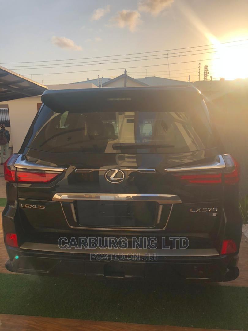 New Lexus LX 2021 Black   Cars for sale in Lekki, Lagos State, Nigeria