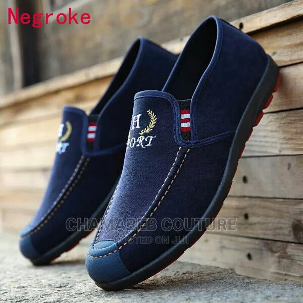 Autumn Men Casual Shoes Fashion Men Shoes Denim Men Loafers   Shoes for sale in Ikorodu, Lagos State, Nigeria