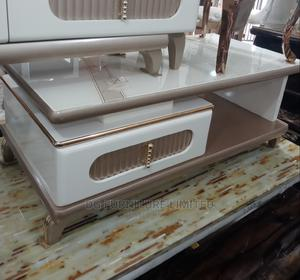Centre Table With Glass Top   Furniture for sale in Lagos State, Ojo