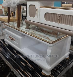 Centre Table With Glass Top   Furniture for sale in Lagos State, Ikorodu