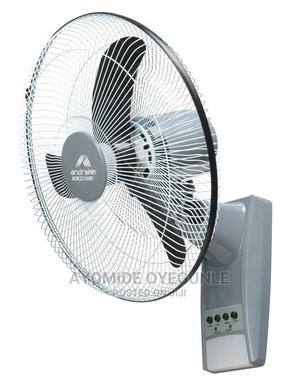 Andrakk Rechargeable Wall Fan | Home Appliances for sale in Lagos State, Surulere