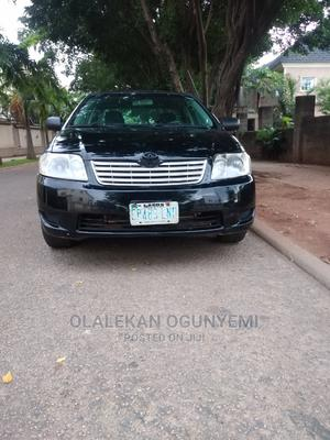 Toyota Corolla 2007 1.4 VVT-i Black | Cars for sale in Abuja (FCT) State, Mpape