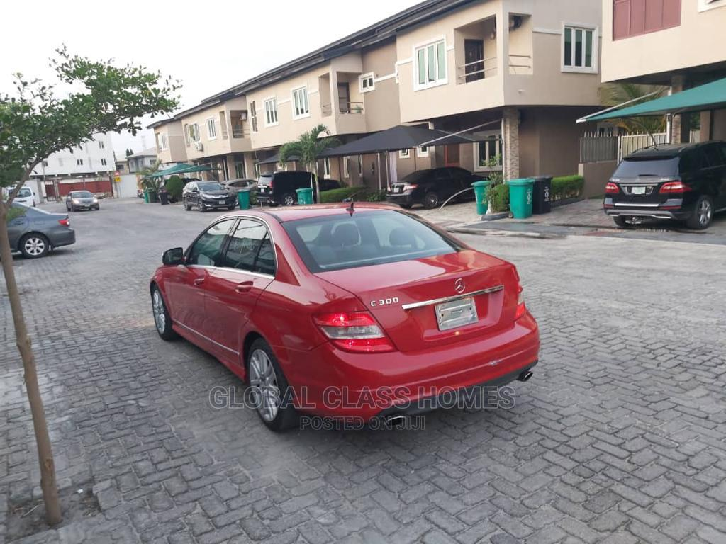 Mercedes-Benz C300 2008 Red | Cars for sale in Lekki, Lagos State, Nigeria