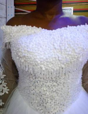Stones and Beaded Wedding Gown   Wedding Wear & Accessories for sale in Abuja (FCT) State, Mpape