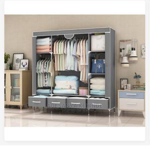 Quality Storage Wardrobe + 4 Drawers L-150x B-45x H170cm | Furniture for sale in Niger State, Minna