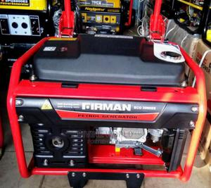 Firman 3.2KVA (Eco3990) Petrol Generator With Key Copper | Electrical Equipment for sale in Lagos State, Ojo