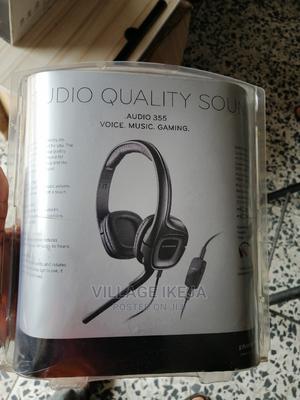 Plantronics Studio Quality Sound Audio 355 Wired | Headphones for sale in Lagos State, Ikeja