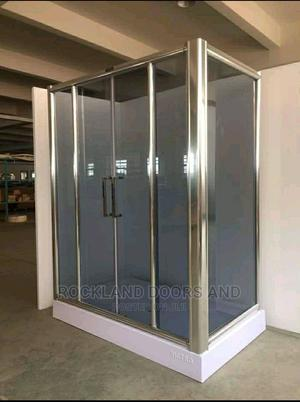 80*80 Shower Glass Cubicle | Plumbing & Water Supply for sale in Lagos State, Orile