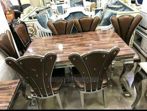 Dinning Set by 6 With Butterfly Chair   Furniture for sale in Lagos State, Lekki