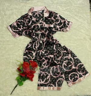 Short And Shirt Silk Pyjamas   Clothing for sale in Lagos State, Apapa