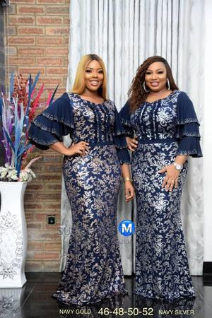New Female Quality Stoned Long Dress   Clothing for sale in Lagos State, Lekki