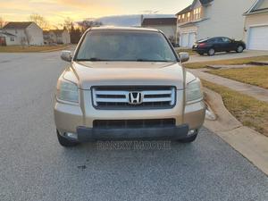 Honda Pilot 2006 EX-L 4x4 (3.5L 6cyl 5A) Gold | Cars for sale in Lagos State, Gbagada