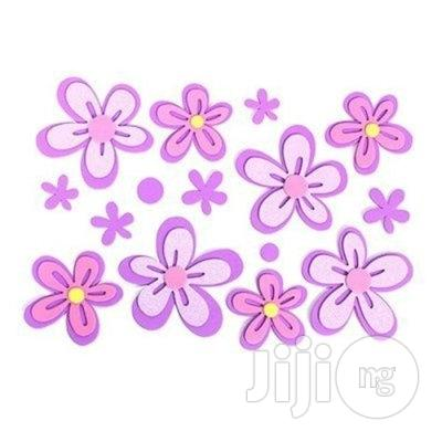 3D Wall Art Stickers-Purple | Home Accessories for sale in Lagos State, Nigeria