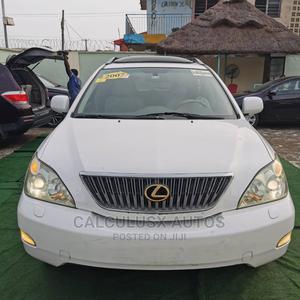 Lexus RX 2007 350 White | Cars for sale in Lagos State, Ilupeju