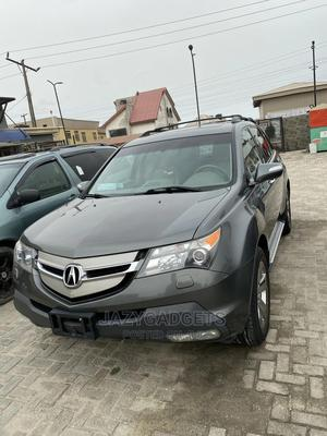Acura MDX 2008 SUV 4dr AWD (3.7 6cyl 5A) Gray | Cars for sale in Lagos State, Ajah