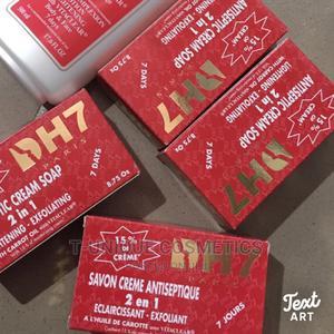 DH7 Antiseptic Cream Soap | Bath & Body for sale in Lagos State, Ikorodu